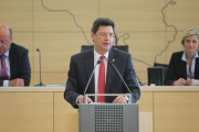 Wirtschaftsminister Reinhard Meyer (SPD)