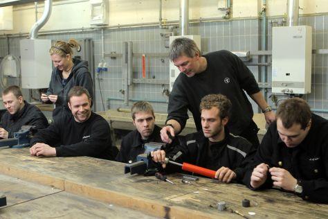 In der Handwerkskammer Flensburg findet der Unterricht der Schornsteinfeger statt