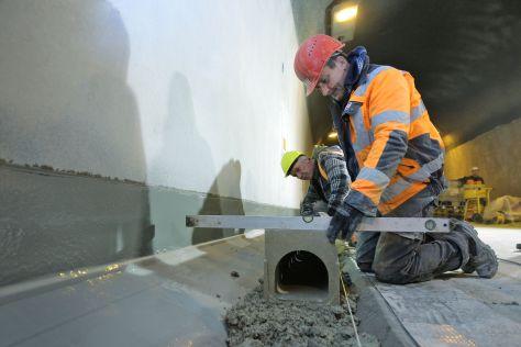 Sanierung des Tunnels unter dem NOK