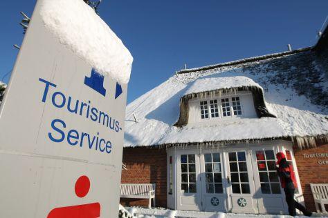Tourismus-Service Rantum Sylt im Winter