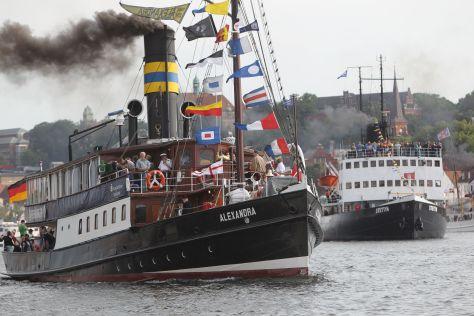 Dampf-Rundum Rundum in Flensburg