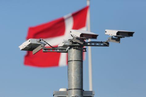 An der Deutsch-dänischen Grenze werden Kennzeichen erfasst