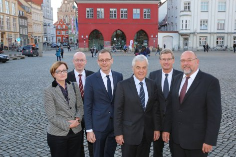 171106 Treffen der norddeutschen Wirtschafts- und Verkehrsminister in Greifswald