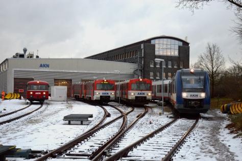 Fahrzeugflotte AKN Eisenbahn AG