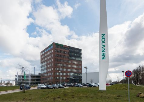Senvion, Gelände in Rendsburg