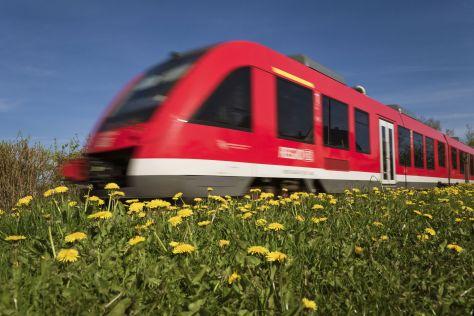 Regionalbahn der Deutsche Bahn