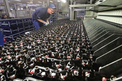 Bierherstellung in der Flensburger Brauerei